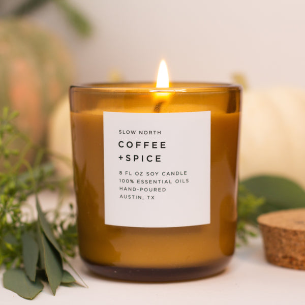 Coffee + Spice Essential Oil Candle