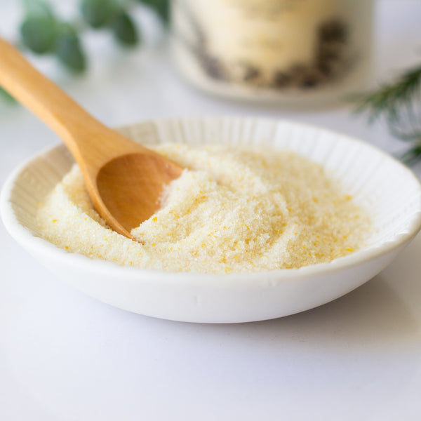 Salt + Cedar Warming Mustard Bath Soak