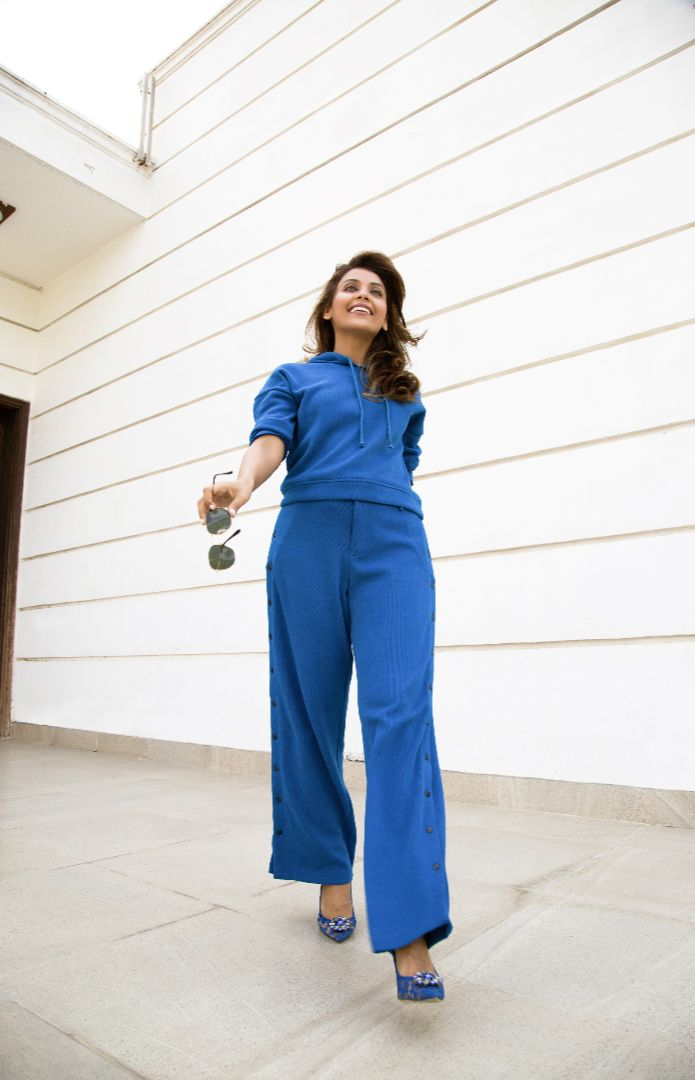 Easygoing Blue Lounge Pant