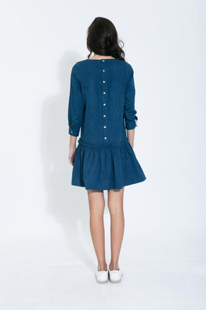 Button-Back Belle Dress