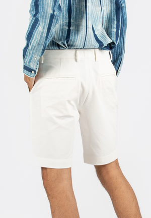 Everywhere White Comfort Shorts