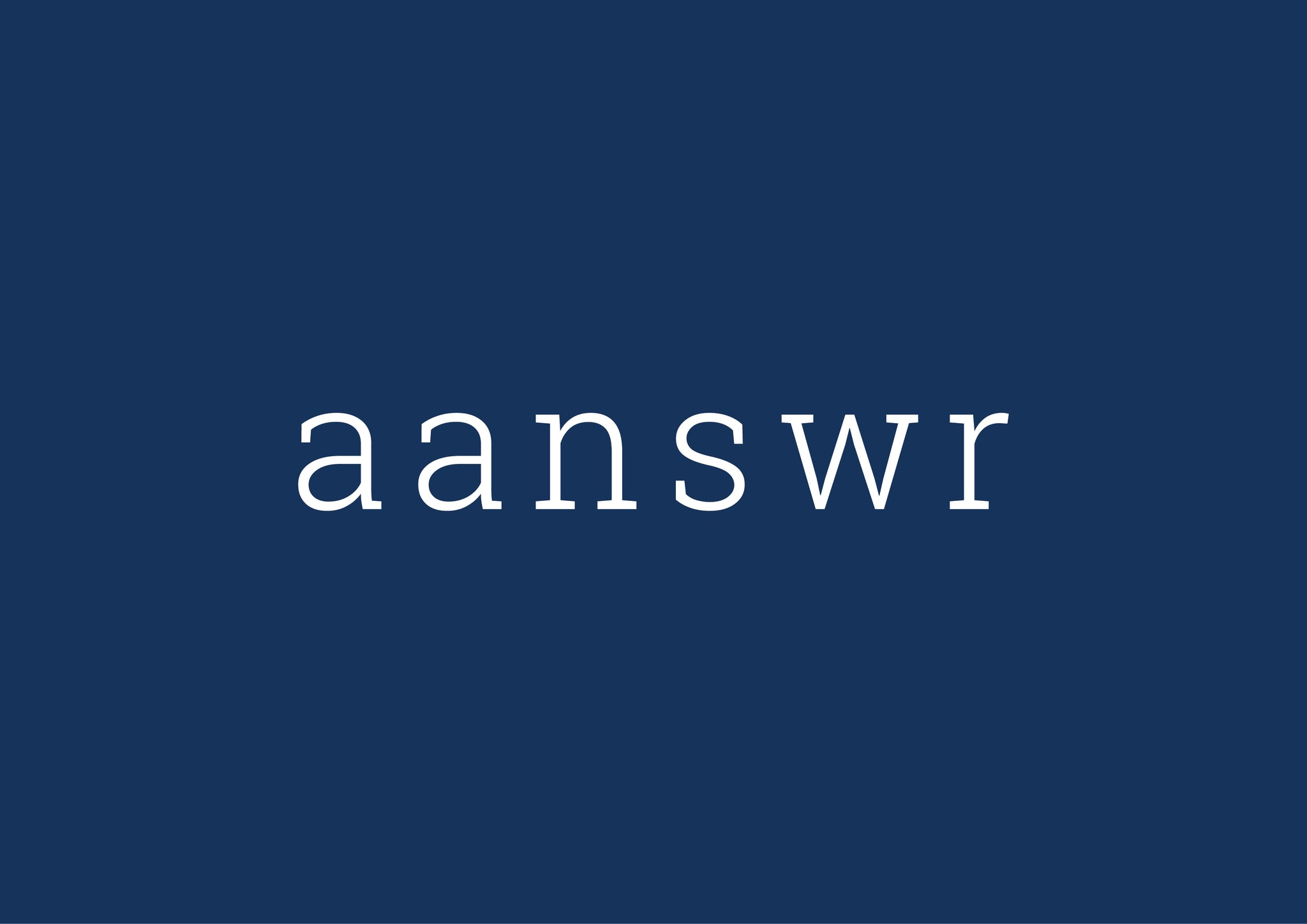 aanswr Gift Card