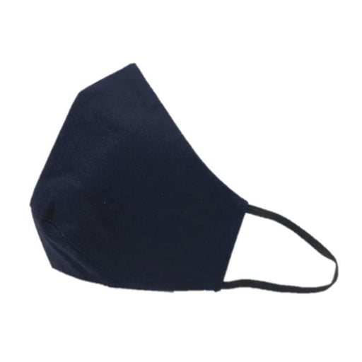 3-Layer Reusable Washable Cotton Cloth Face Mask - Blue-Unisync-PriceWhack.com