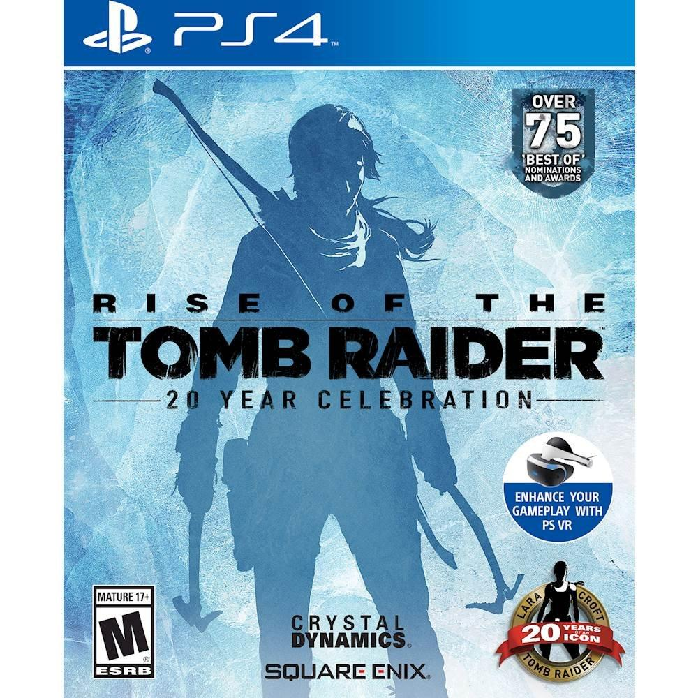 Rise of the Tomb Raider: 20 Year Celebration - PS4-Square Enix-PriceWhack.com
