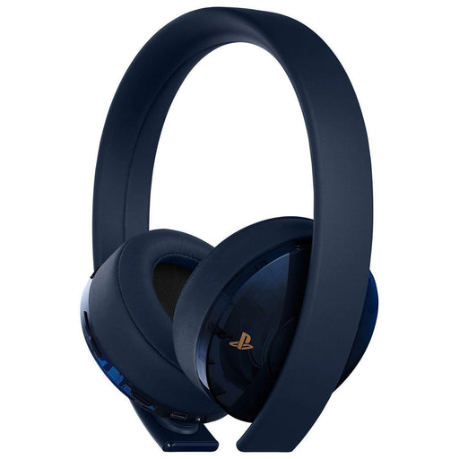Sony Playstation Gold Wireless Headset Black 500 Million Limited Edition-Sony-PriceWhack.com