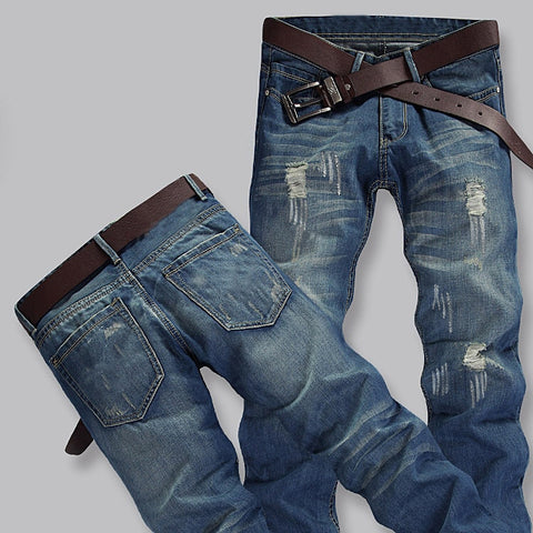 Men's Brand Jeans Light Thin Fashion Brand Jeans Large Sales Of Spring Summer Jeans Fashion Slim Jeans Men's Trousers