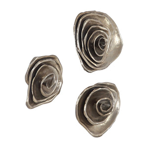 AMALIE METAL WALL DECOR, S/3