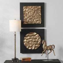 Load image into Gallery viewer, BOAZ METAL WALL DECOR, S/2