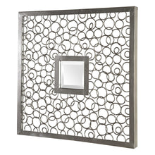 Load image into Gallery viewer, COLUSA SQUARES MIRRORED WALL DECOR, S/2