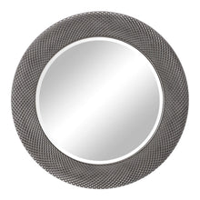 Load image into Gallery viewer, AZIZA SILVER ROUND MIRROR