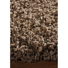 Load image into Gallery viewer, Brown Shaggy Solid Rug