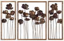 Load image into Gallery viewer, METAL TULIPS WALL DECOR, S/3