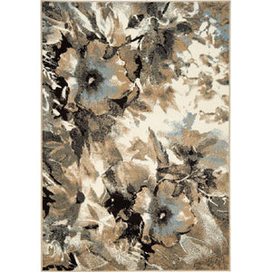Casa Watercolor Flowers Rug