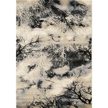 Load image into Gallery viewer, Platinum Tree Branches Rug