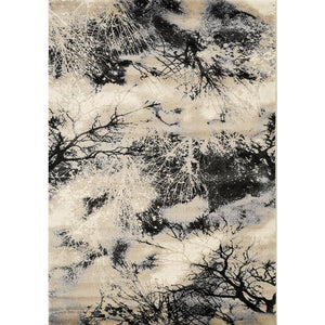 Platinum Tree Branches Rug