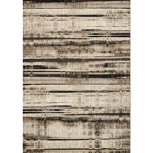 Load image into Gallery viewer, Platinum Distressed Stripes Rug