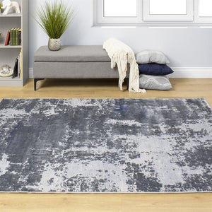 Sabine Distressed Abstract Rug