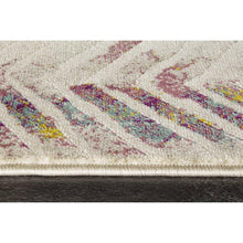 Load image into Gallery viewer, Topaz Distressed Chevron Rug