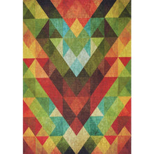 Load image into Gallery viewer, Morello Colourful Diamond Flying Pattern Rug