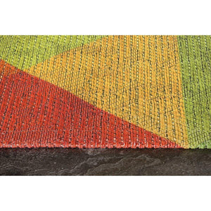 Morello Colourful Diamond Flying Pattern Rug