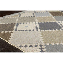 Load image into Gallery viewer, Domain Colourful Checkerboard Quilt Rug