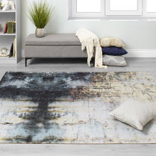 Load image into Gallery viewer, Morello Distressed Flower Rug
