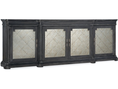 WOODLANDS FOUR-DOOR CREDENZA