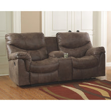 Load image into Gallery viewer, Alzena Reclining Sofa & DBL Rec Loveseat w/Console
