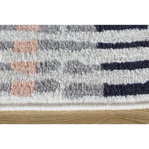 Spring Pastel Pop of Colour Rug