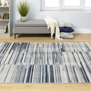 Promenade Stacked Stripes Rug
