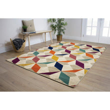 Load image into Gallery viewer, Topaz Diamond Checkerboard Rug