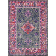 Load image into Gallery viewer, Saffron Medallion Border Rug