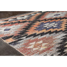 Load image into Gallery viewer, Sara Angle Diamond Multicoloured Rug