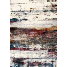 Load image into Gallery viewer, Sidra Multicoloured Banded Rug