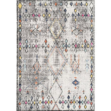 Load image into Gallery viewer, Saffron Diamond Border Rug