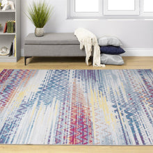 Load image into Gallery viewer, Antika Distressed Chevron Rug