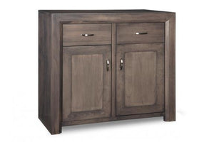 Contempo Sideboard w/2 Wood Doors & 2/Dwrs & 1/Wood Adjust