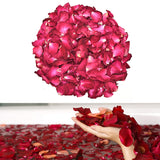 30/50/100g Dried Rose Petals Natural Dry Flower Fragrant Bath Spa Shower Tool Whitening Bath Beauty Body Foot Skin Care