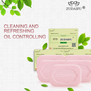ZUDAIFU Sulfur Soap Skin Conditions Acne Psoriasis Seborrhea Eczema Anti Fungus Bath Cream Skin Care Cream Antibacterial