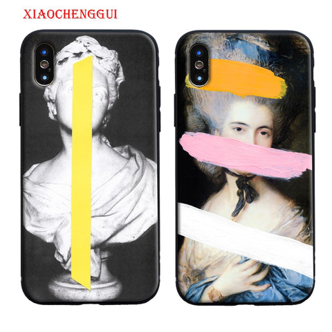Art Statue Case For iPhone