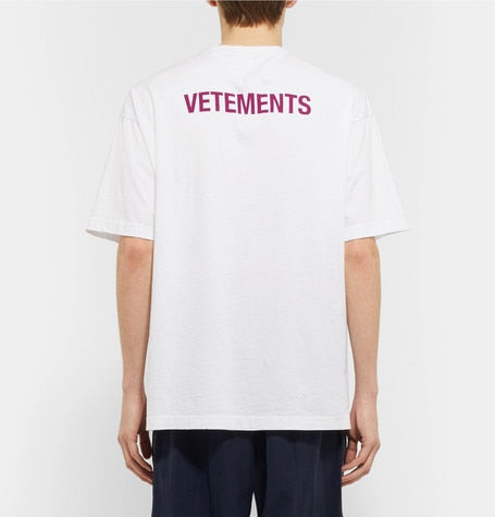 Vetements Reflective T Shirt