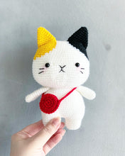 Load image into Gallery viewer, Tira the Little Cat Amigurumi Workshop