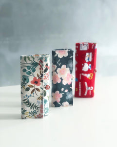 Button ボタン Roll Pouch Workshop