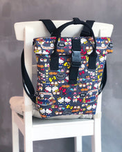 Load image into Gallery viewer, Buckle Tote Backpack Workshop