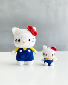 Hello Kitty ハローキティAmigurumi Crochet Video Tutorial & Kit
