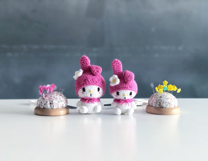 My Melody マイメロディ Amigurumi Workshop