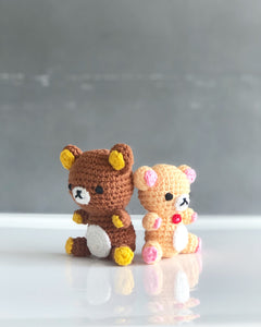 Rilakkuma リラックマ & Friends Amigurumi Workshop