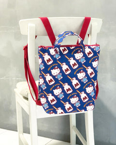 Zipper Tote Backpack Workshop