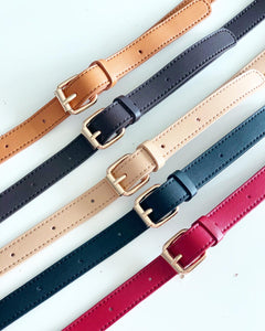 Poketto Mini Leather Bag Strap