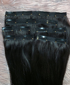 Clip-in Remy Hair Extensions Grande Set (220g)